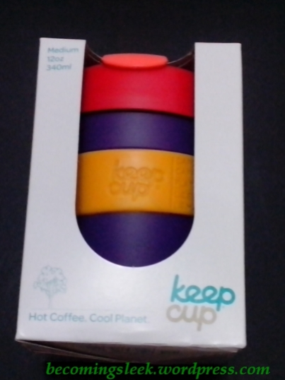 KeepCup in box