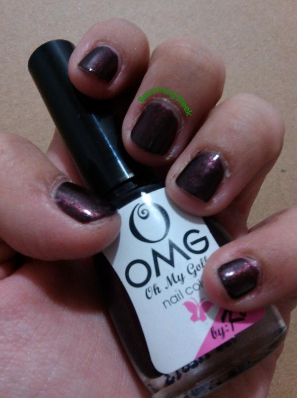 Nails: OMG Happy Hour   Becoming Sleek