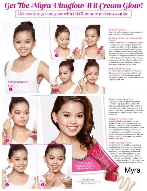 Myra Vitaglow BB Cream Signature Look Full-page